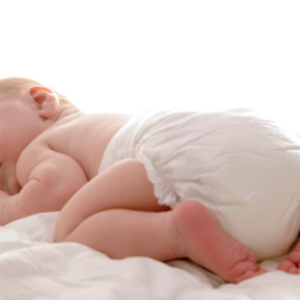 odparzona pupa niemowlaka